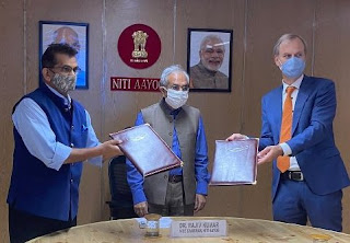 NITI Aayog and Embassy of Netherland signs SoI