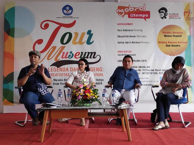 Ubaydillah Anwar Tampil di Acara Tempo Media Group