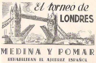 El Torneo de Londres 1946 en Ajedrez Español