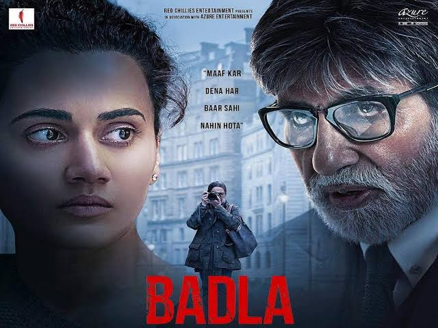 Index of Badla (2019) Download Bollywood full movie in 480p, 720p in mkv format