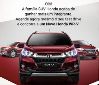Promoção Honda 2017 Fazer Test Drive Concorrer Carro Zero km