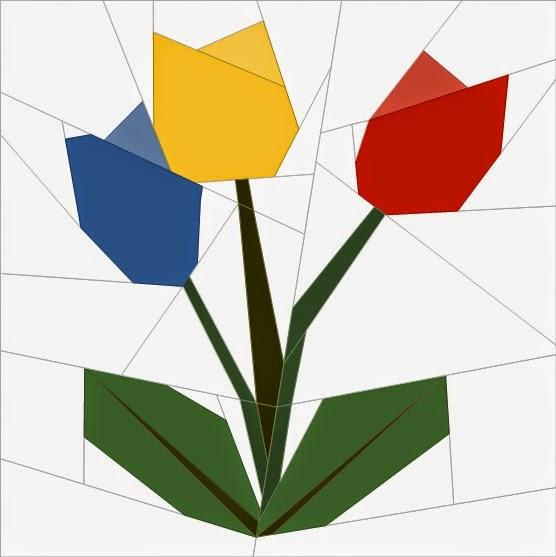 Quilt Art Designs: Bitty Block #6