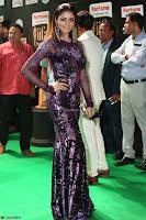 Shilpi Sharma looks Glamorous in Transparent Purple Glittering Gown at IIFA Utsavam Awards 035.JPG