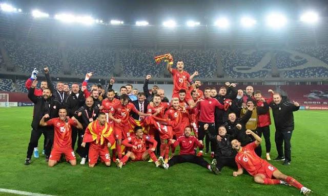 History! Macedonia will play Euro after beating Georgia