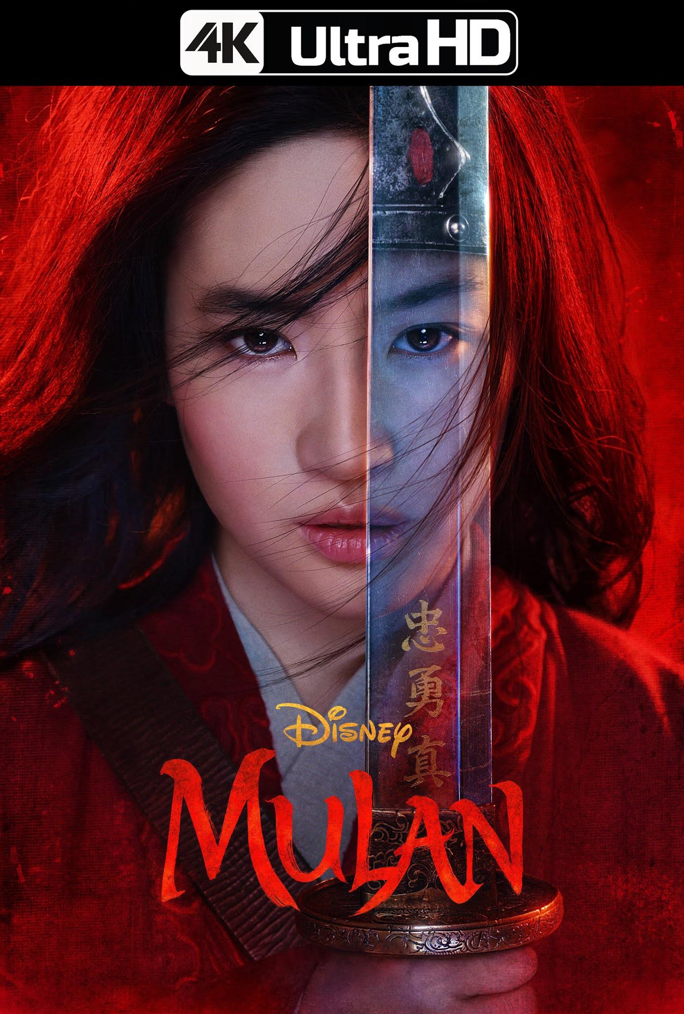 Mulán (2020) DSNY+ 4K WEB-Rip 2160p Latino