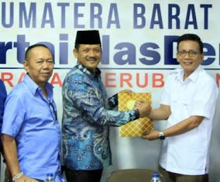 Cawako Solok, Yutris Can Mendaftar di DPW NasDem Sumbar