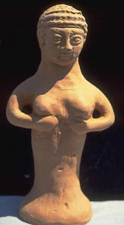 Малка оброчна статуя на Ашера