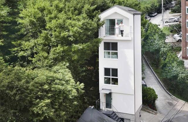 Smallest House in Seoul: SERORO Tiny House in Dongdaemun