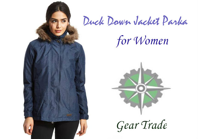 womens duck down parka