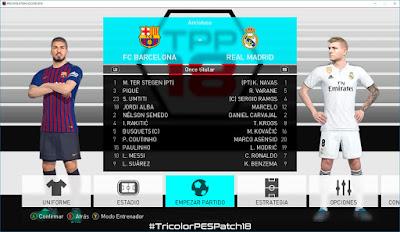 PES 2018 TricolorPES Patch 2018 Season 2018/2019