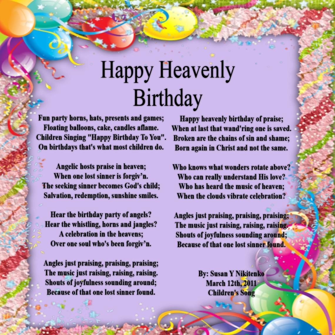 Children's Gems In My Treasure Box: Happy Heavenly