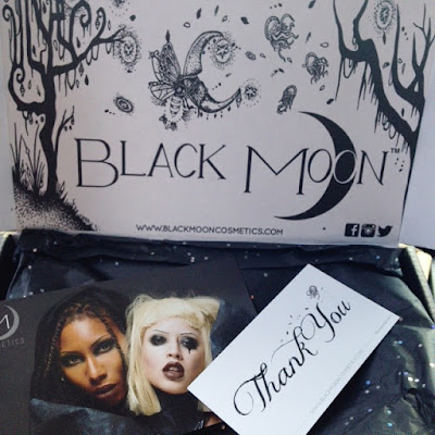 Black Moon Cosmetics packaging - www.modenmakeup.com