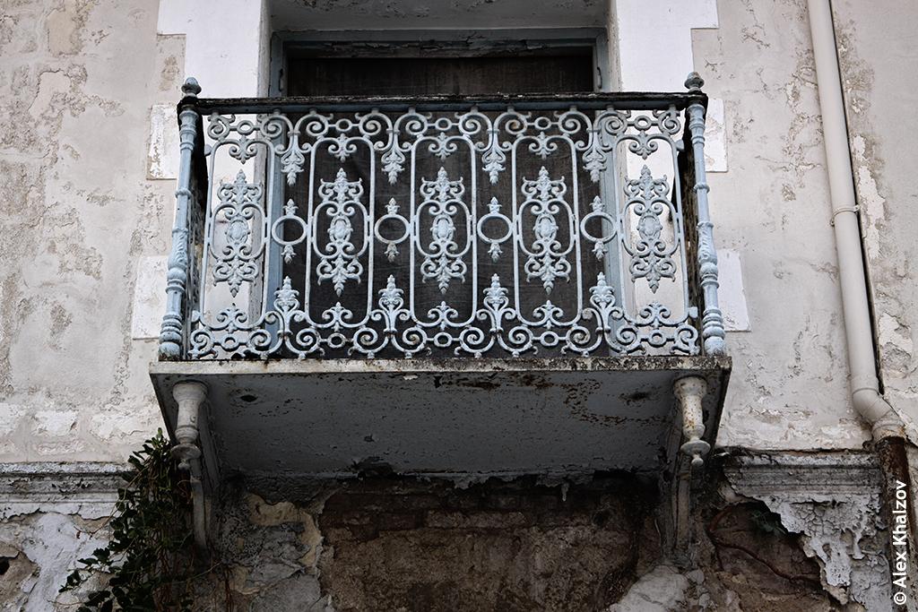 балкон в Греции