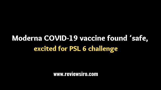 In teens, the Moderna COVID-19 vaccine was shown to be 'safe and effective.'