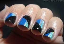 Manicure tutorials for diagonals