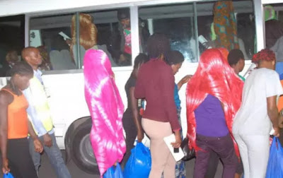 nigerian girls trafficked mali