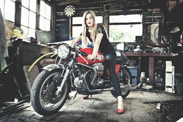 Girl Meets Bike