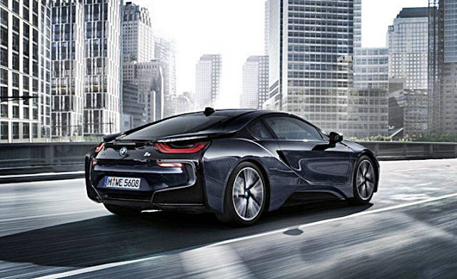 2017 BMW I8 Protonic Dark Silver Edition