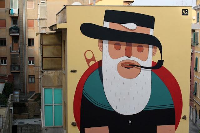 Уличный художник из Италии. Агостино Якурчи (Agostino Iacurci) 11