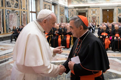 Pope and Becciu