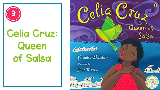 Sharing Read Alouds for Hispanic Heritage Month is a great way to share about influential people  with your upper elementary students.