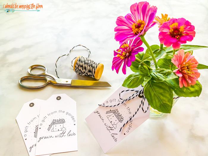 Jelly Jar Flowers