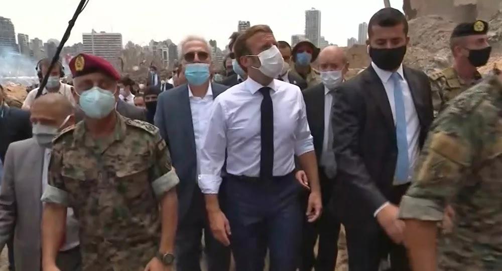 ماكرون: لن يتم منح لبنان شيكا على بياض