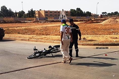 مصرع سائق دراجة نارية في حادثة سير بتنغير