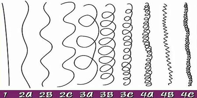 classificação dos cabelos tabela