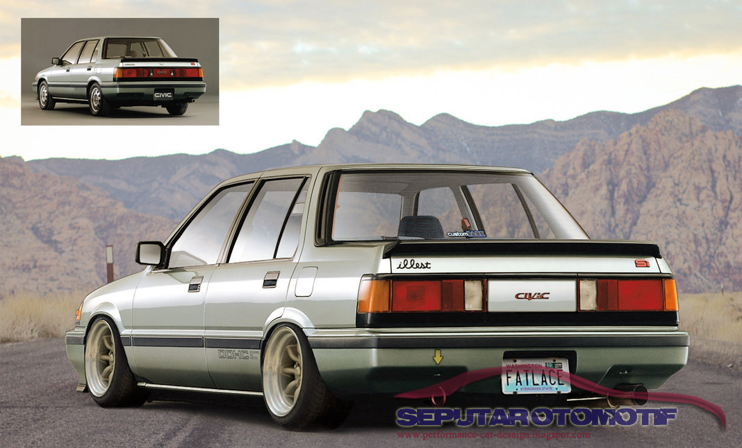 7800 Koleksi Modifikasi Mobil Honda Civic Wonder 2 Pintu Gratis