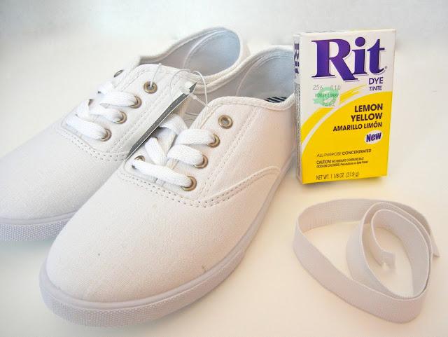 Rit Dye Tennis Shoes