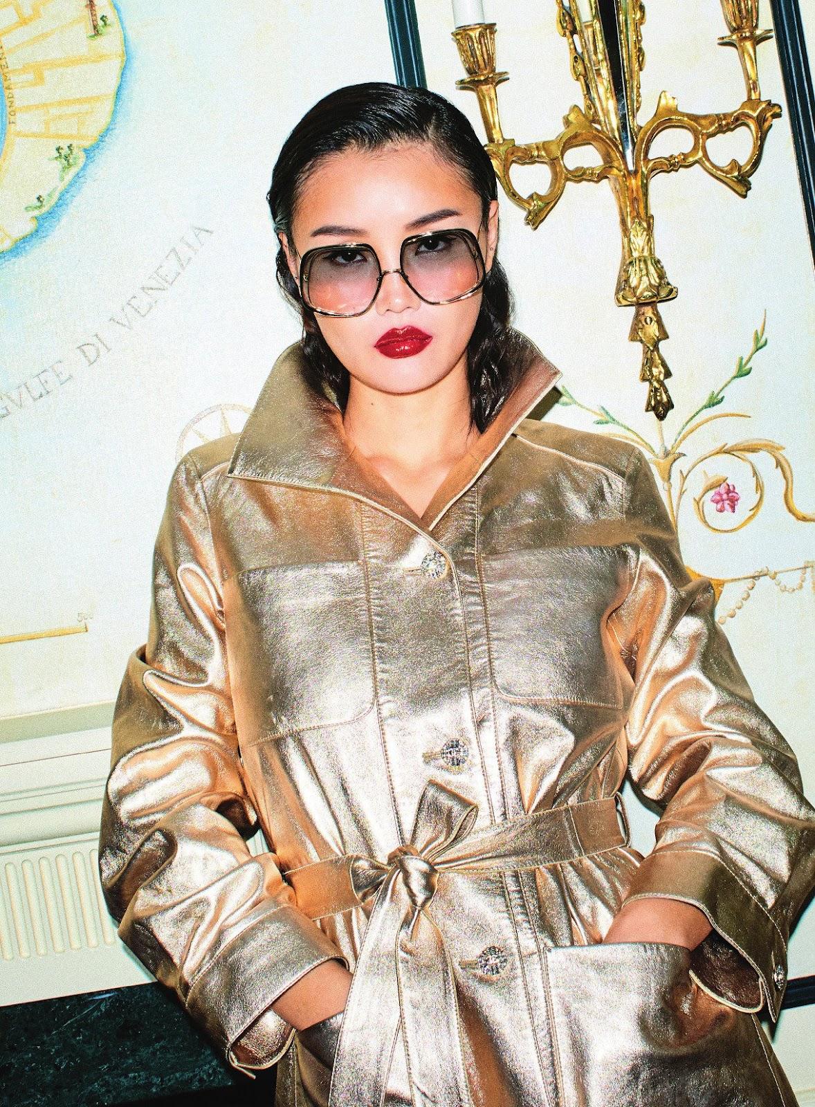 SMILE:Shumei Jiang in Stylist UK 8th September 2021 by Bella Howard