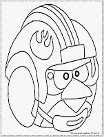 Gambar Mewarnai Angry Birds Star Wars Mewarnai Gambar