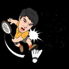 Bird badminton v2