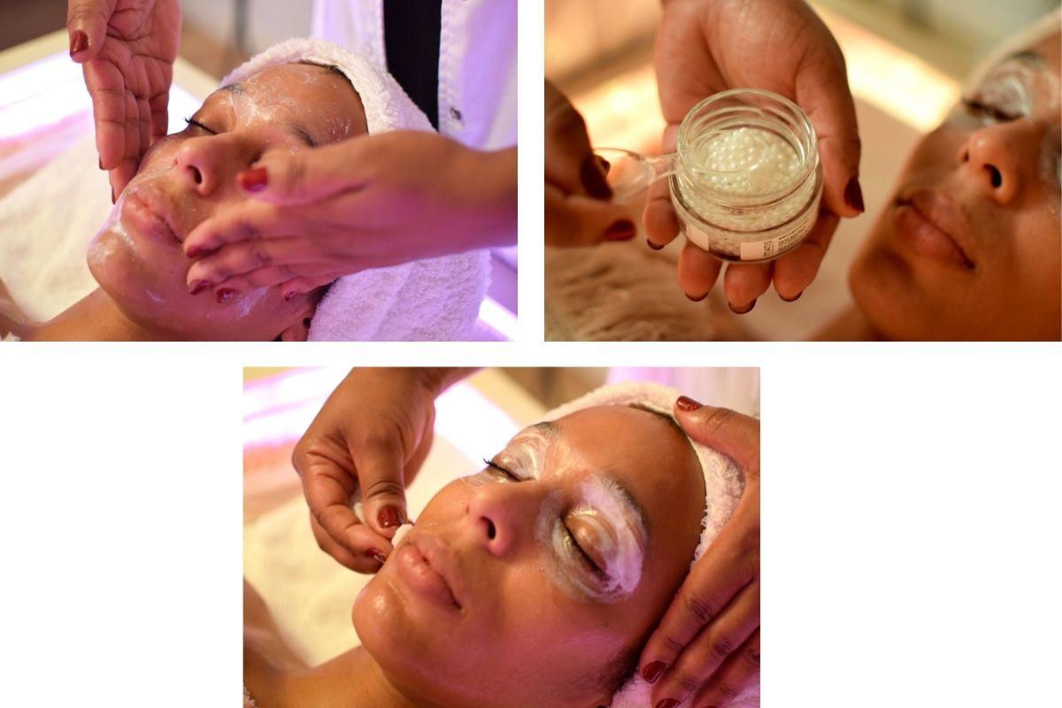 tratamiento de belleza y bienestar