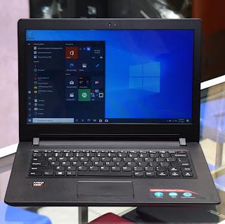Jual Laptop Lenovo ideapad 110-14AST Proc. AMD A9-9400