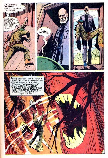 Weird War Tales v1 #1 dc bronze age comic book page art by Joe Kubert