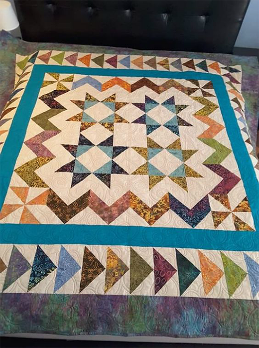 Courtship Quilt Designed by Norma Yoder, The Tutorial by Jenny Doan of Missouri Star Quilt Co