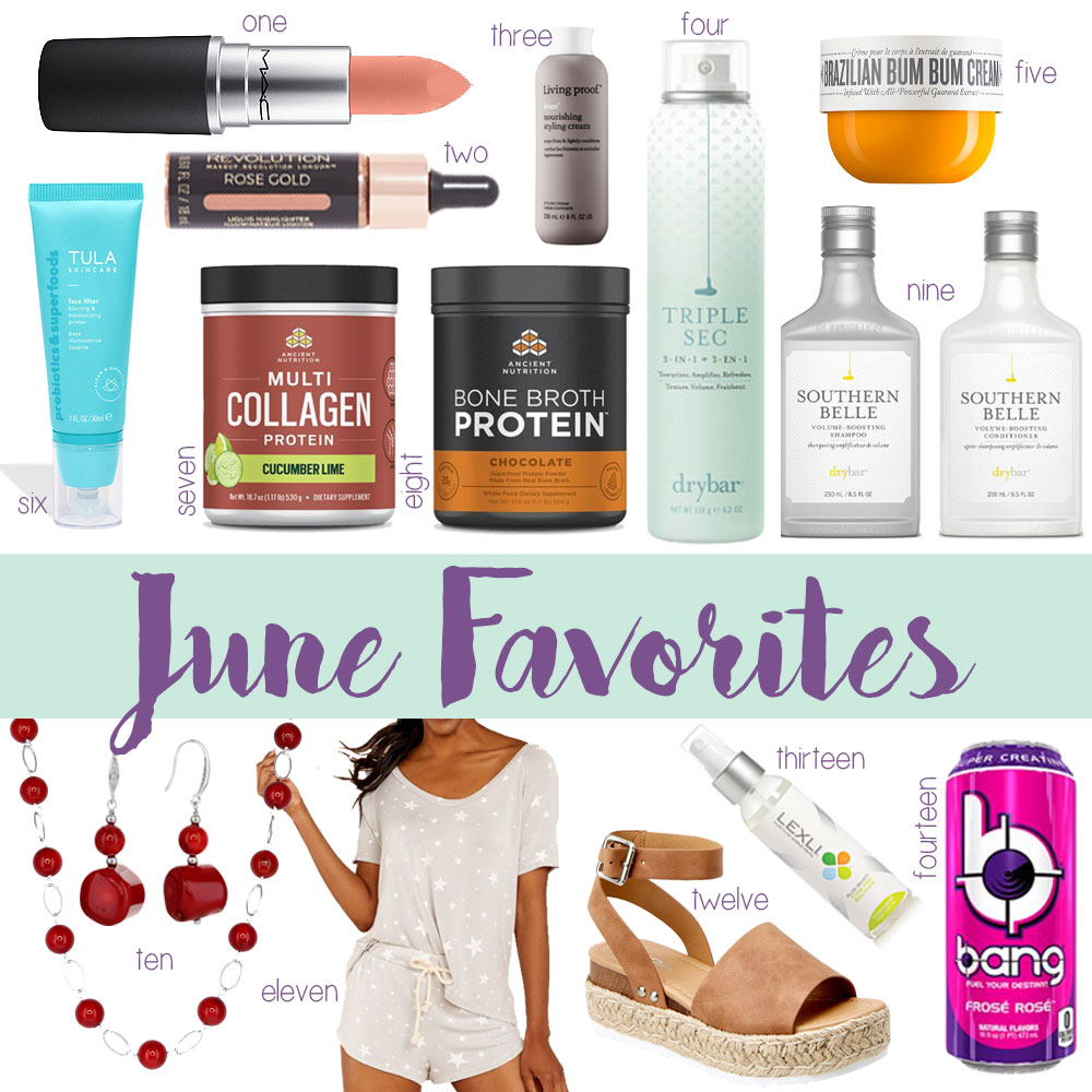 Oklahoma Blogger Amanda Martin's June Favorites