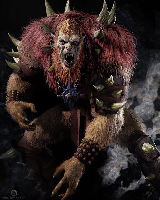 George Evangelista Beast Man