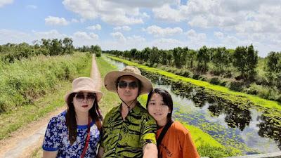 Dương Lễ tham quan rừng quốc gia U Minh Thượng, ngắm cảnh đẹp sông nước lung linh tại rừng quốc gia U minh thượng