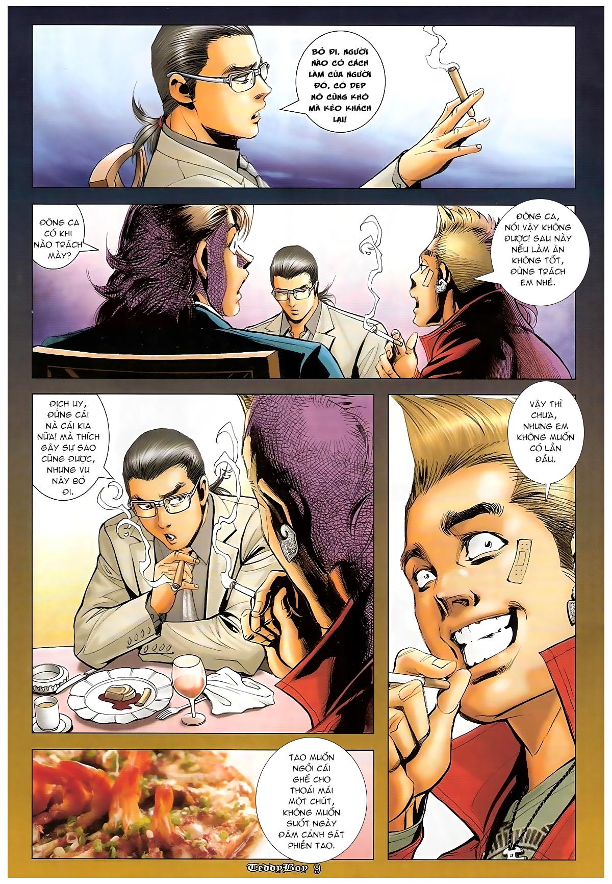 Người Trong Giang Hồ - Chapter 1265: Bát vàng rửa tay - Pic 8