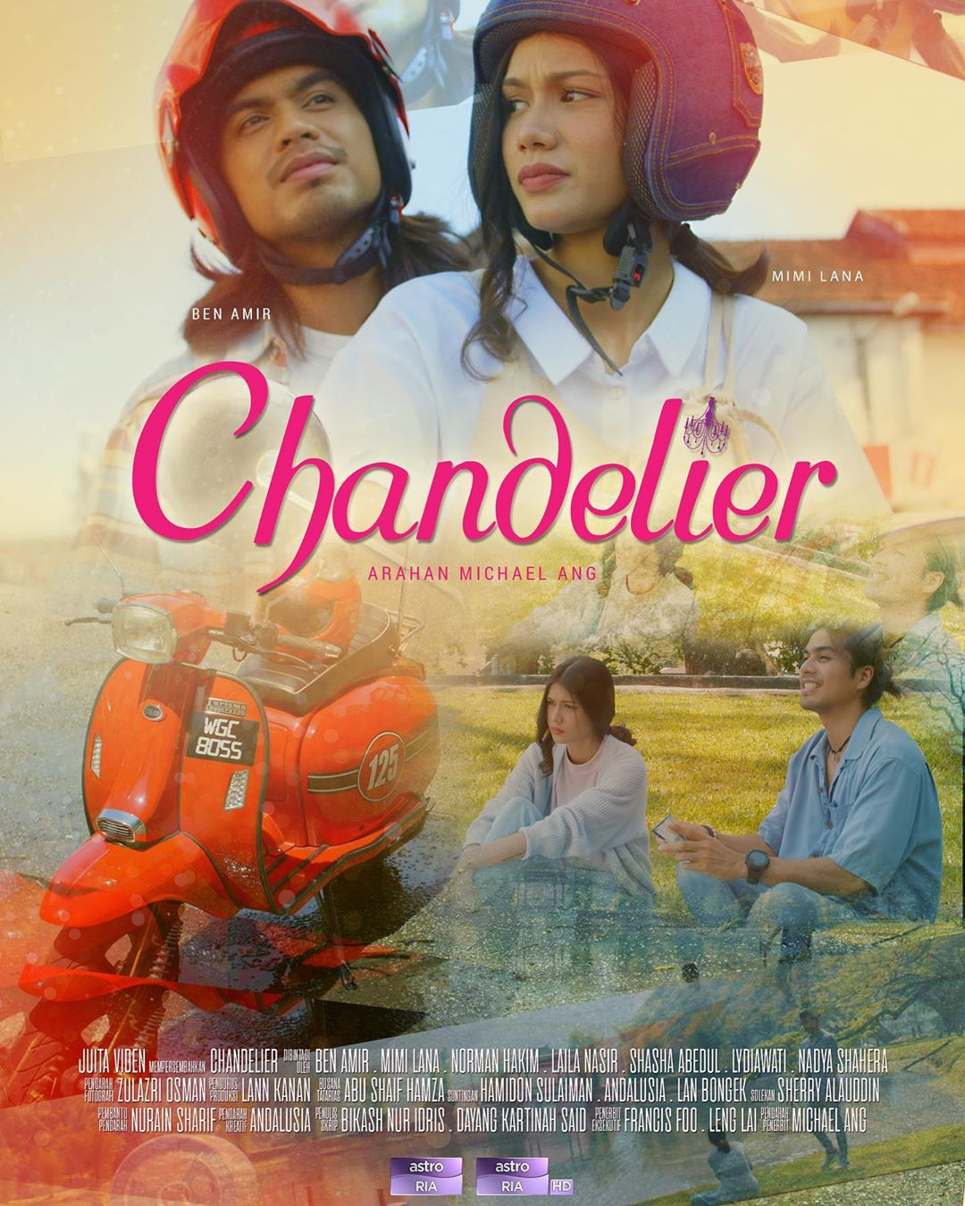 Drama Chandelier