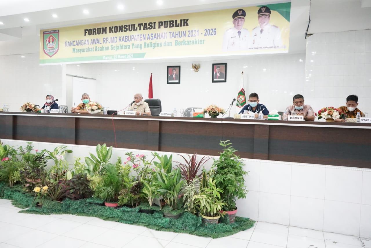 Susun RPJMD Tahun 2021-2026, Bupati Asahan Minta Disiapkan Dokumen Renstra OPD Masing-Masing