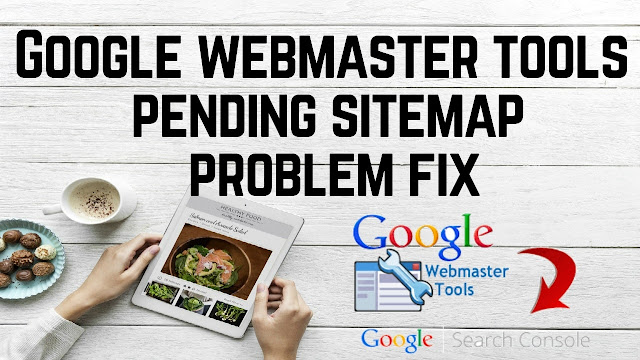 Google webmaster tools or google search console xml sitemap indexed pending problem fix in Hindi
