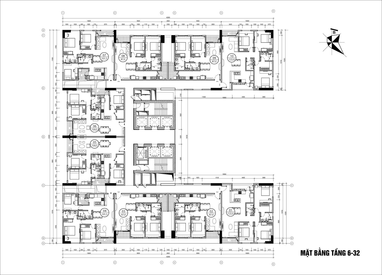 Thông báo mở bán đợt 1 chung cư Phú Mỹ Complex - N01T4 Ngoại Giao Đoàn