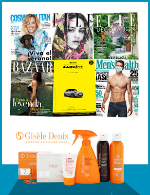 Suscripción Revista Harper's Bazaar agosto 2020 noticias moda y belleza mujer