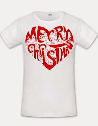 58a85849c2 Merry Crhistmas női fehér póló