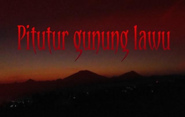 Pitutur Gunung Lawu, Kisah Pengalaman Horor