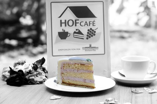 Kuchen aus dem empfohlenen Hofcafe